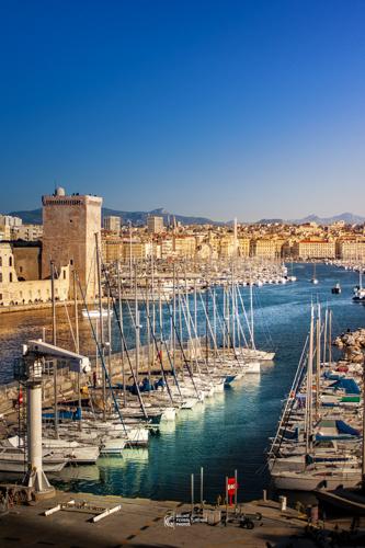 L'entrée du Vieux Port | Marseille | Bruno Perrin-Turenne Photos