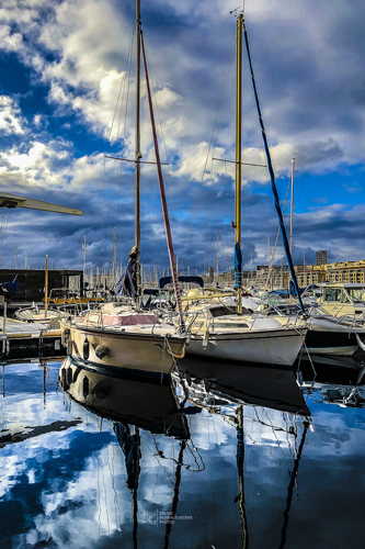Voiliers sur le Vieux Port | Bruno Perrin-Turenne Photos