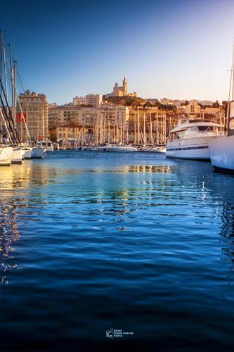 Vieux Port de Marseille en fin d'après-midi | Bruno Perrin-Turenne Photos
