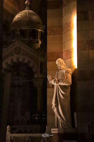 Statue de Saint Luc | Cathédrale de la Major | Marseille | Bruno Perrin-Turenne Photos