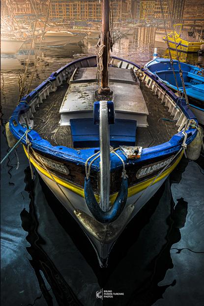Barquette sur le Vieux Port | Phots de Marseille | Bruno Perrin-Turenne