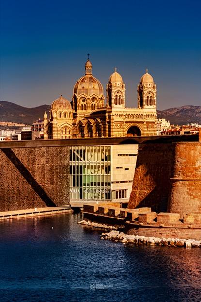 Major, Saint Jean, Mucen, Villa Méditerranée | Photos de Marseille | Bruno Perrin-Turenne Photos