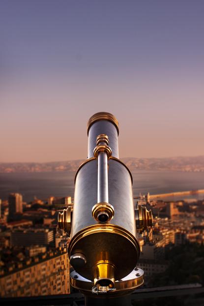 Longue vue à Notre Dame de la Garde | Photo de Marseille | Bruno Perrin-Turenne